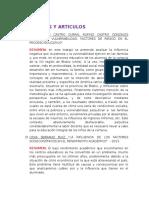 Bibliografía Tesis y Articulos