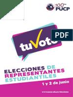 Suplemento Elecciones de Representantes Estudiantiles 2017