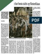Sinterklaas komt in 2005 aan in Sneek.