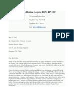 nurs 5026- cover letter