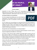 Lettre ouverte du Maire de Grigny P. Rio à J-L Melenchon