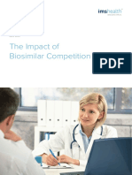 IMS Impact of Biosimilar Competition 2016