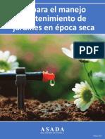 Manual de Jardinería y Riego ASADA Malinches 2017