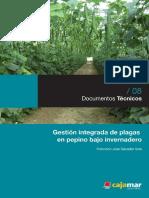 Gestión Integrada de Plagas en Pepino Bajo Invernadero