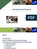 gestion de alcance de un proyecto