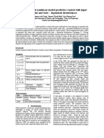 CASD 2017.  Stability of robust nonlinear model predictive control with input constraint and state – dependent disturbances