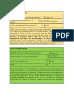 Fichas Conceptuales y Fichas Bibliograficas