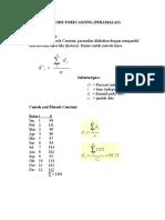 7 Metode Peramalan (Forecasting) 1