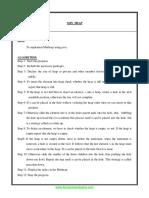 Cs9215 Datastructures Lab Manual Usingj Ava