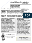 150101 Quidhampton Village Newsletter January 2015