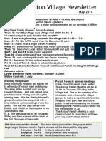 140429 Quidhampton Village Newsletter May 2014