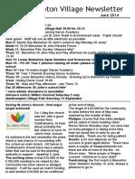 140531 Quidhampton Village Newsletter June 2014