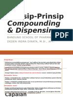 1. Prinsip-Prinsip Compounding & Dispensing