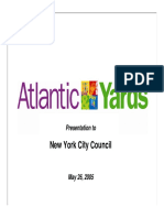 Forest City Ratner Presentation on Atlantic Yards to New York City Council, May 26, 2005