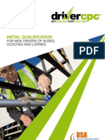 Driver CPC Training - Initial Qualification Leaflet
