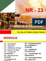 Princípios de Combate a Incendio Presente Do Nwn