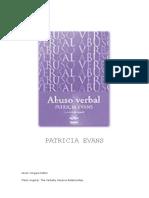 Abuso Verbal - Patricia Evans
