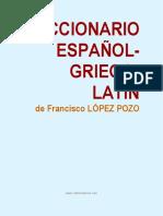 Diccionario Griego Latin Español