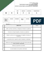 Evaluacion de Cuadernos
