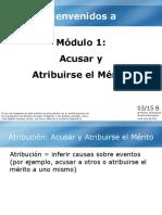 1. Modulo B (Estilo Atribucional)