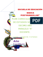 PCA   10 DE EESS