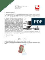 Taller Parcial II - Cálculo III