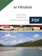 Beer Filtration- Harpoon