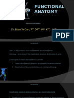 Functional Anatomy - Joints and Muscles