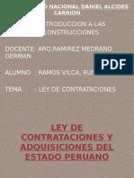 Russell Ley de Contrataciones