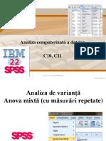Analiza de Varianta Anova Mixta (Cu Mas. Rep)