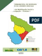 Plano Intermunicipal Grande Aracaju_part 1