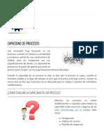 Cp&Cpk Capacidad de Proceso Ing.industrial