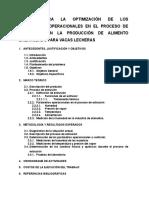 Estudio para la optimizacion de los parametros operacionales en el proceso de extrusion