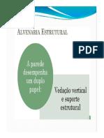 Alvenaria Estrutural - Conceitos Iniciais