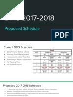 DMS 2017-18 Schedule Presentation 5-16-17
