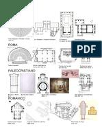 plantas historia de la arquitectura