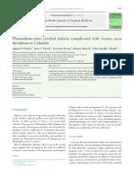 Case Report Malaria Cerebral P. Vivax