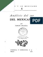 Emilio Uranga - Análisis Del Ser Del Mexicano (1951)