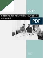 Gobierno de Información, De La Idea a La Realidad (White Paper)
