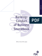 Fsa Banking Code Book Uk