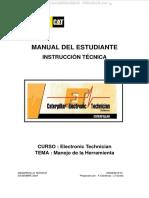 Manual Instruccion Tecnico Electronico Caterpillar Manejo Herramienta Procedimientos Herramienta Diagnostico