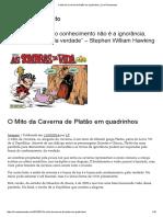 O Mito Da Caverna de Platão Em Quadrinhos _ Livre Pensamento