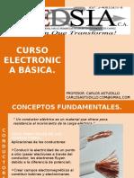 Clase Electronica Básica - Conceptos Fundamentales. CAPEDSIA
