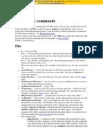 Microsoft Word - Basic UNIX Commands