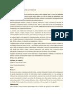 características de la ponencia