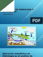 Elementos de hidrolog+¡a estad+¡astica y estoc+ística