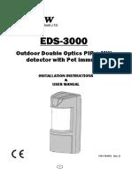Manual de Instalacion Eds-3000 Sensor Movimiento