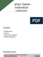 Bahan Galian (Uranium)