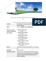Lakeland FASD Camp Application 2017 Revised