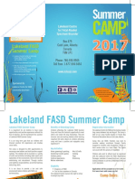 7827 LCFASD Summer Camp Brochure 2017